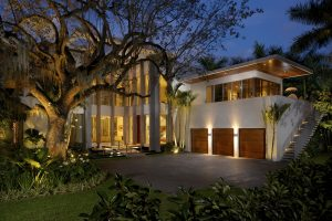 Outdoor Lighting Enhances Your Home's Beauty, and Safety.